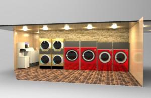 乾燥機gold&洗濯乾燥機Redメタル