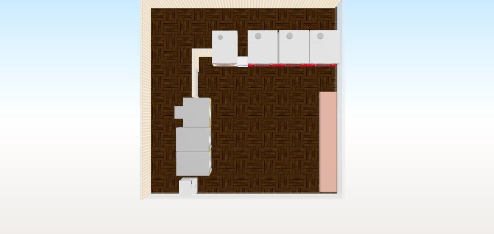 13坪45㎡プラン 正方形